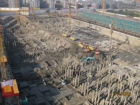 工程地基_崇左建设大厦地基工程基本完工我要买房左