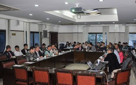 福州大学土木工程学院胡昌斌副院长一行来我院交流